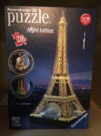 Puzzle 3D night edition Paris