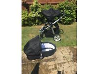 Icandy Apple 2 Pear pushchair and carrycot