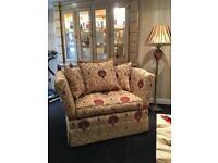 David Gundry Broadway drop arm love chair Knoll