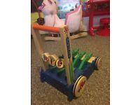 Melissa and Doug deluxe wooden baby walker
