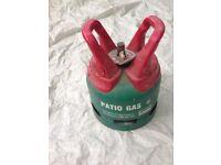 Calor patio propane gas bottle 5kg can deliver