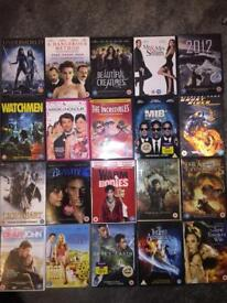 DVD's job lot