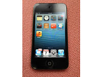 Ipod Touch 32GB 4th Generation in Original Box with Headphones, Cable etc. Exc Condition