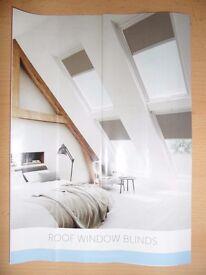 Window blinds for Velux window