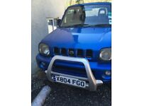 Suzuki Jimny 1.3 soft top convertible / estate. petrol model 4x4 with good tyres.