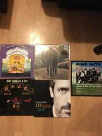 5 records for sale