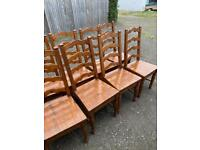 Irish Coast dining table and 10 chairs