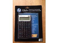 HP 10bll Financial Calculator