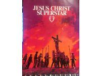 JESUS CHRIST SUPERSTAR 1973 OFFICIAL SOUVENIR BOOK ORIGINAL