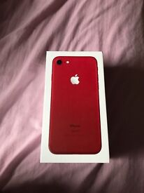 iPhone 7 128G red limited edition perfect condition