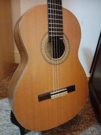 JOSE FUENTES Concert Cedar Classical Guitar for Sale