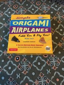 Origami Airplanes * New