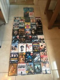 Selection of DVD'S.