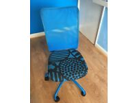 Blue IKEA Office Chair