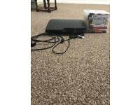 PS3 with 10 Games and 2 controllers