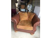House chair for sale as we have moved home and doesn't fit