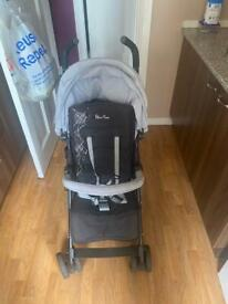 Baby stroller in very good condition silver cross