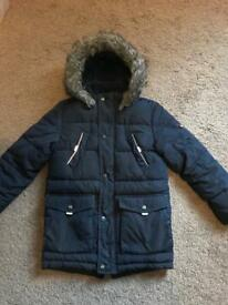 TED BAKER WINTER COAT ONLY WORN FOR ONE WINTER AGE 10 VGC