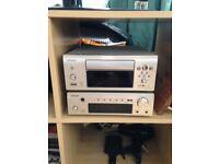 Denon cd, mp3, stereo & amp