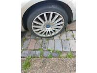 "18"" FORD MONDEO ST 220 ALLOYS WHEELS X 4 OPEN 2 OFFERS"