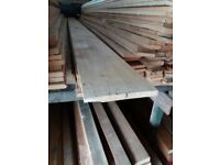 """8"""" x half inch timber 15ft lengths just £10 per length"""