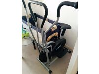Exercise and stepper fitness bike