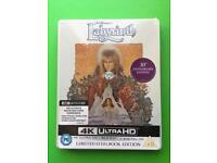 Labyrinth 4k blu ray steelbook (brand new)