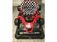 Baby walker F1 car