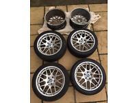 Bmw e46 e39 e92 alloy wheels wheel 5x120 m3 CSL reps 18