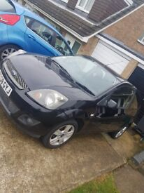 Ford Fiesta 1.2 Style 3dr Black 2008