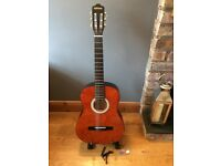 CLIFTON Guitar with stand and capo