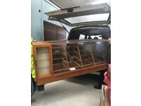 Lockup of Retail 20thC Vintage counters/cabinets/dummies & lots more