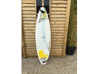 BIC Sport 6 foot 7 inch shortboard.