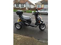 Trippi 3 wheeled motor bike