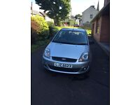 Late 2007 Ford Fiesta 1.2 Zetec manual silver (not focus, Clio, ka, golf, 206)
