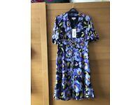 Karen Millen Day/Evening Floral blue dress