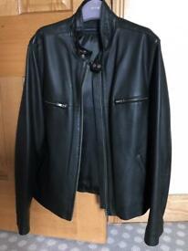 Men's genuine leather jacket LIKE NEW!