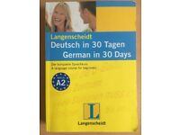 German in 30 days book
