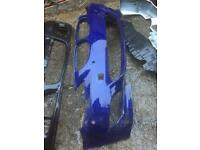 BMW e60 m5 front bumper needs repair can post