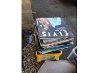 Job lot of 300-400 vinyl records