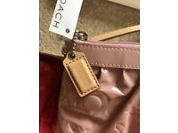 Designer COACH Pink Patent Purse NEW - Christmas present 🎄