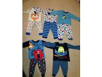 12-18 month boys pyjama bundle