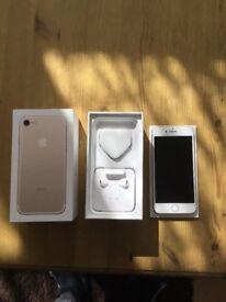iPhone phone 7 gold 128GB