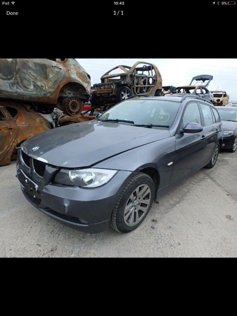 2007 e91 BMW 320 parts breaking bcg