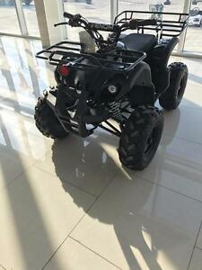 2017 New 125cc Teenager ATV with Reverse. Upgraded 8'' big wide tires. Remote Kill Switch