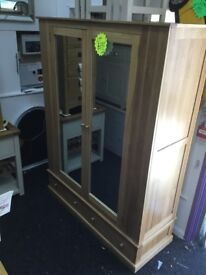 NEW!! WIDE DOUBLE WARDROBE