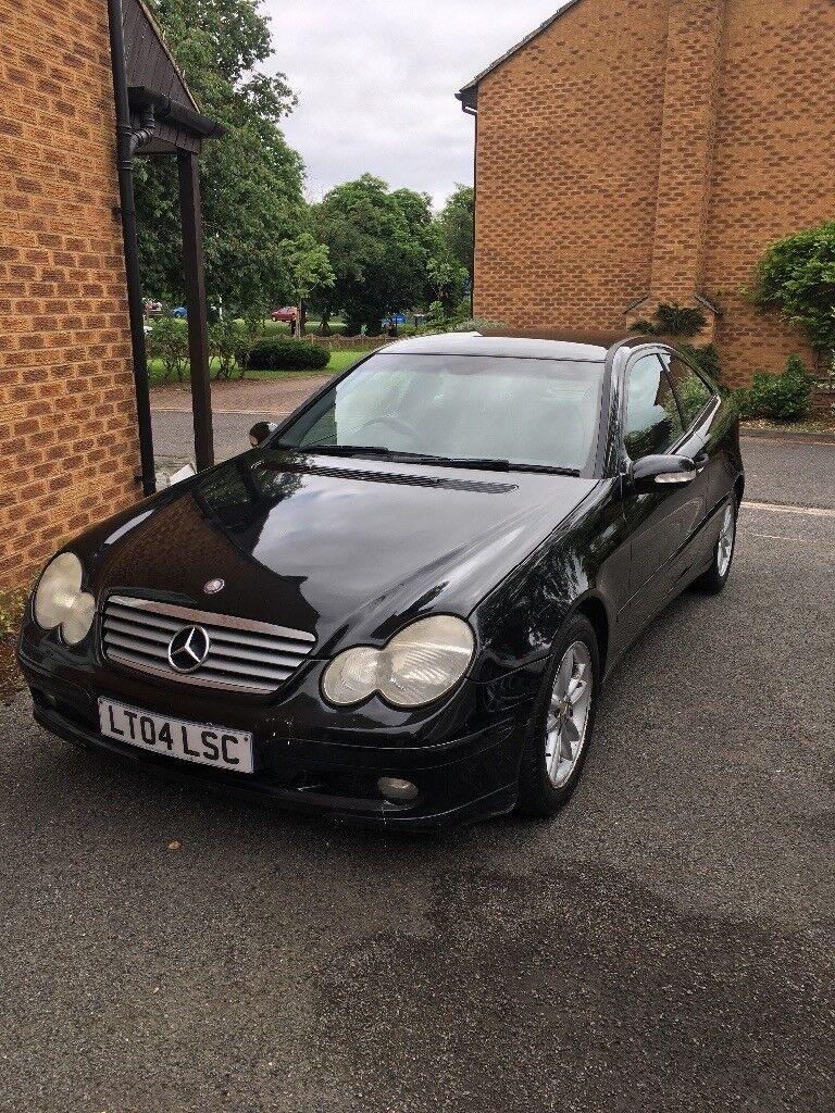 Very Clean Black Mercedes Benz C230 Coupe Kompressor Mot Until 2019 In Hillingdon London Gumtree