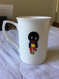 Golly football bone China mug