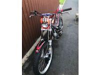 Gas gas txt pro 280 trials bike