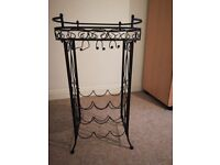 Wine and glass rack stand